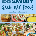 One to pin! A great collection of food for homegating and super bowl watching