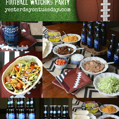 5 Tips for Throwing the Ultimate Football Watching Party