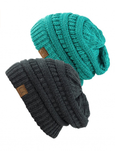 Cozy and chic beanies, one of my must-haves for January.