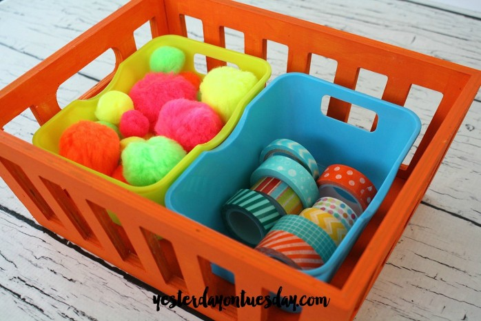 Craft Supplies Caddy