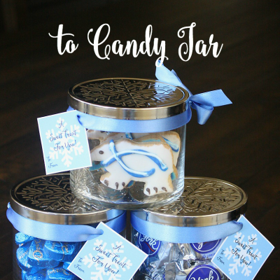 From Candle Jar to Candy Jar