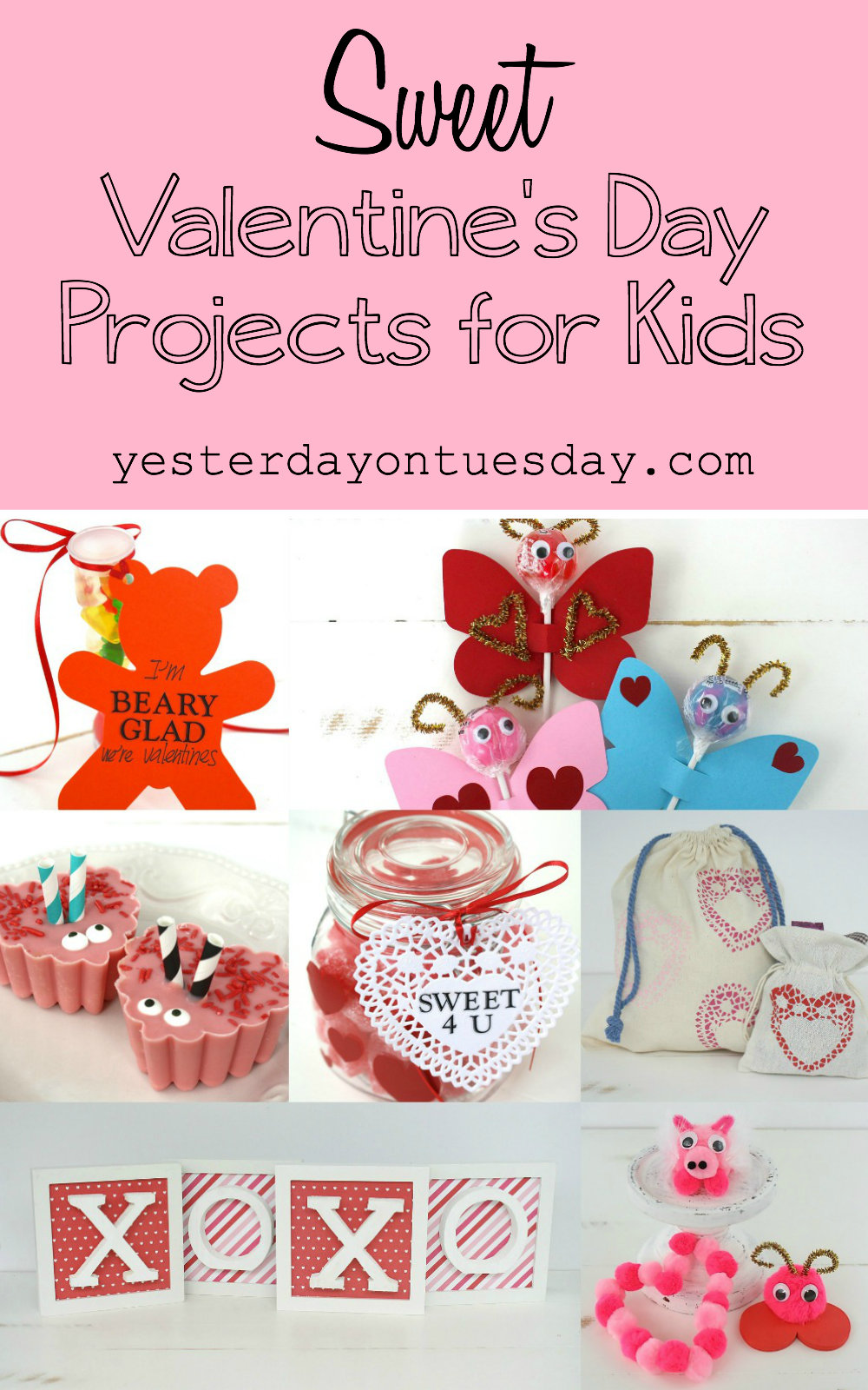 Sweet Valentines Day Projects For Kids Png