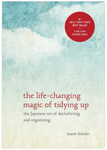 The Life-Changing Magic of Tidying Up: The Japanese Art of Decluttering and Organizing one of my must-have for January