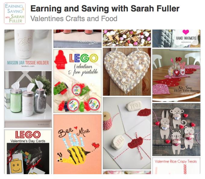 Valentines Craft and Food
