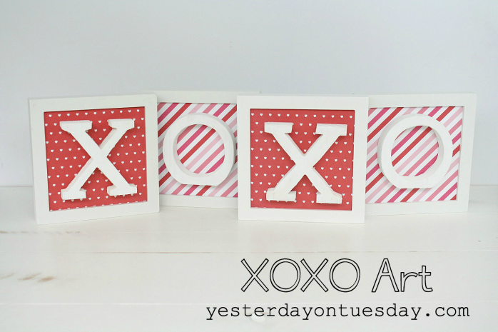 XOXO Framed Art