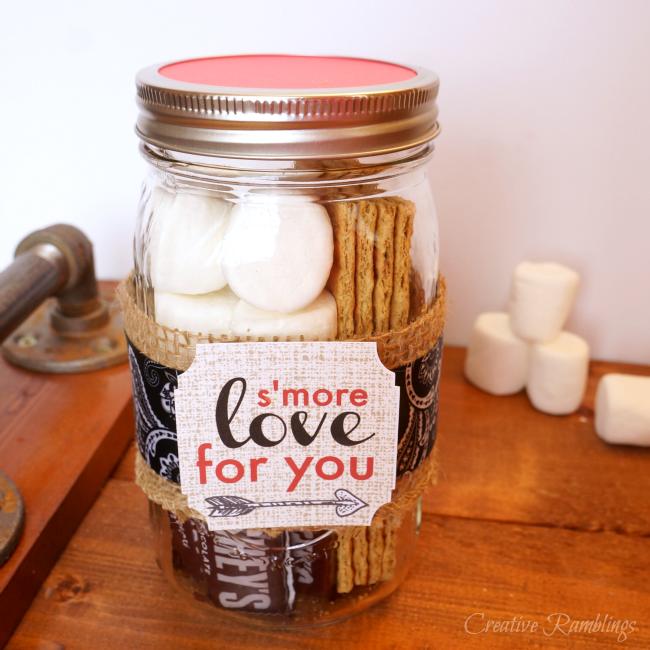 S'more Valentine Gift