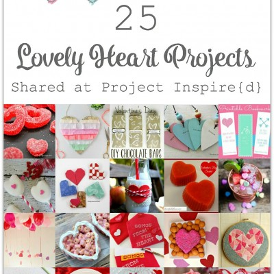 25 Lovely Heart Projects