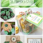 A gold and green collection of St. Patrick's day projects and crafts!