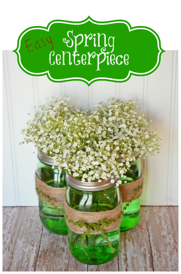 Spring Centerpiece by Cottage at the Crossroads