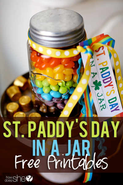 Rainbow St. Patrick's Day Printables