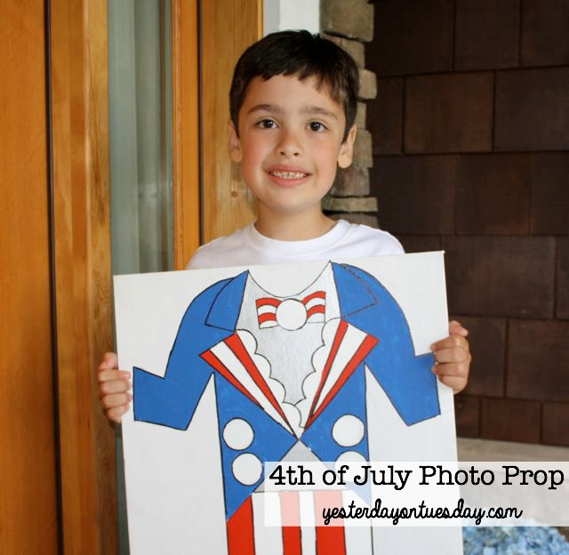 4th Of July Photo Prop