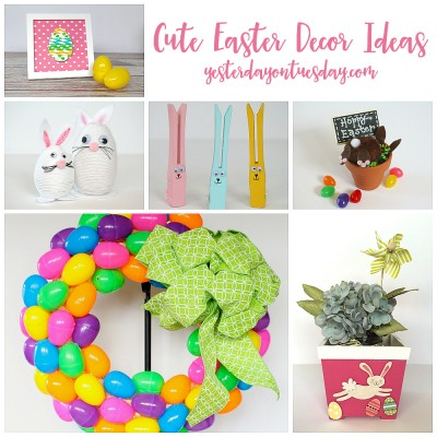 Cute Easter Decor Ideas