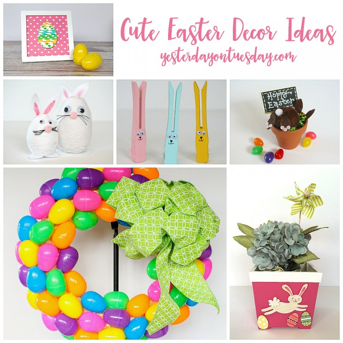 Home Craft Ideas Easter Bunny Flower Pot Craft Flower Pot: Cute Easter Decor Ideas
