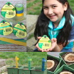 Tips for creating a Kid Friendly Herb Garden and how kids can make simple garden markers.