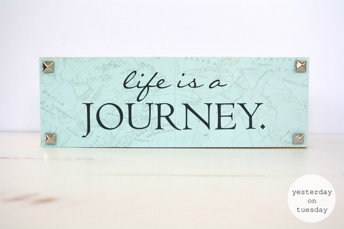 Life is a Journey Art