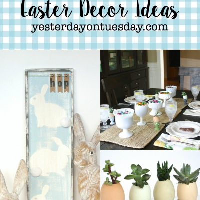 Lovely Neutral Easter Decor Ideas