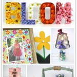 Pretty Spring Decor Projects to make for your home!