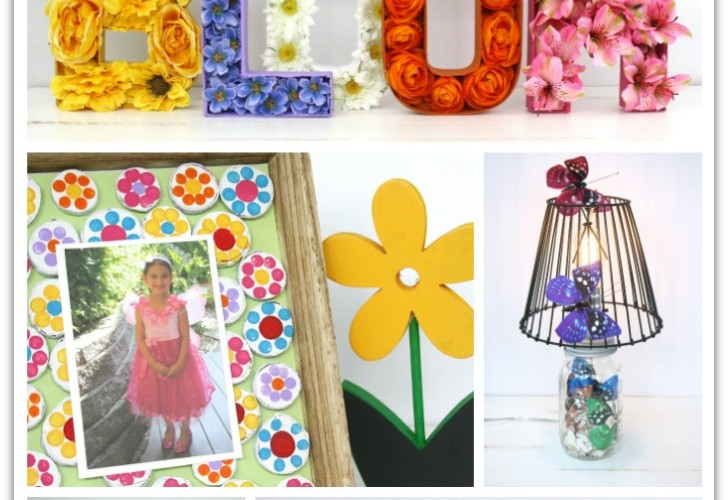Pretty Spring Decor Projects for Your Home