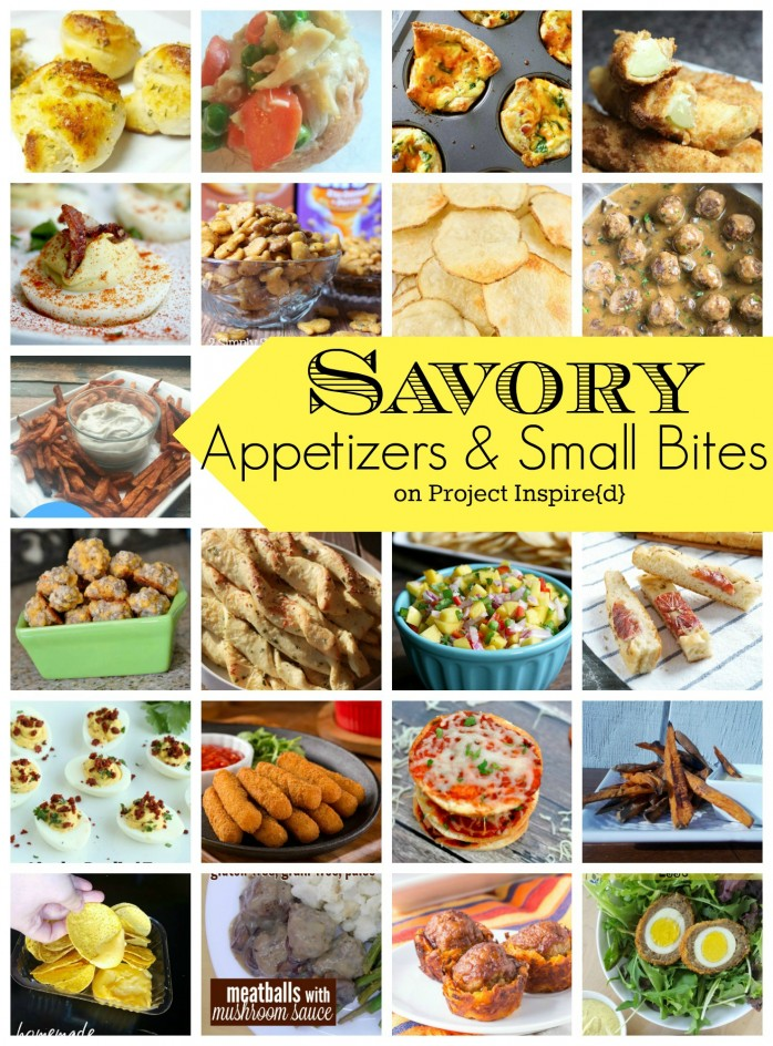 Savory Appetizers and Small Bites: Perfect for Easter and spring entertaining as well cocktail parties any time !