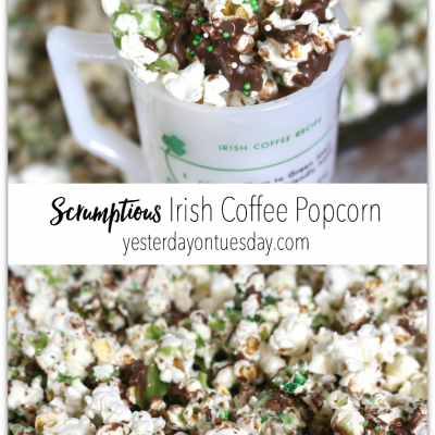 Scrumptious Irish Coffee Popcorn