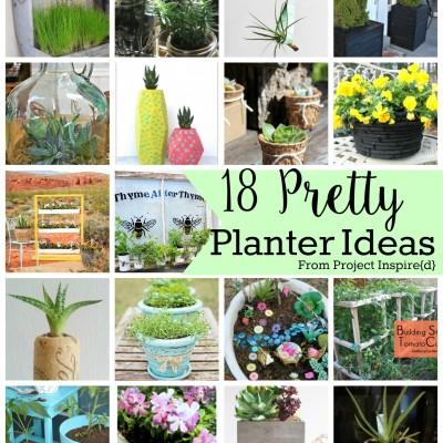 18 Pretty Planter Ideas