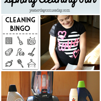 5 Ways to Make Spring Cleaning Fun