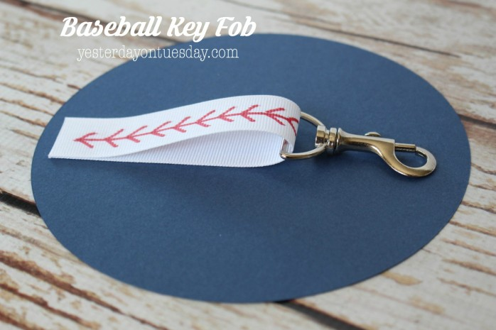 How to make a Baseball Key Fob, a great project for kids