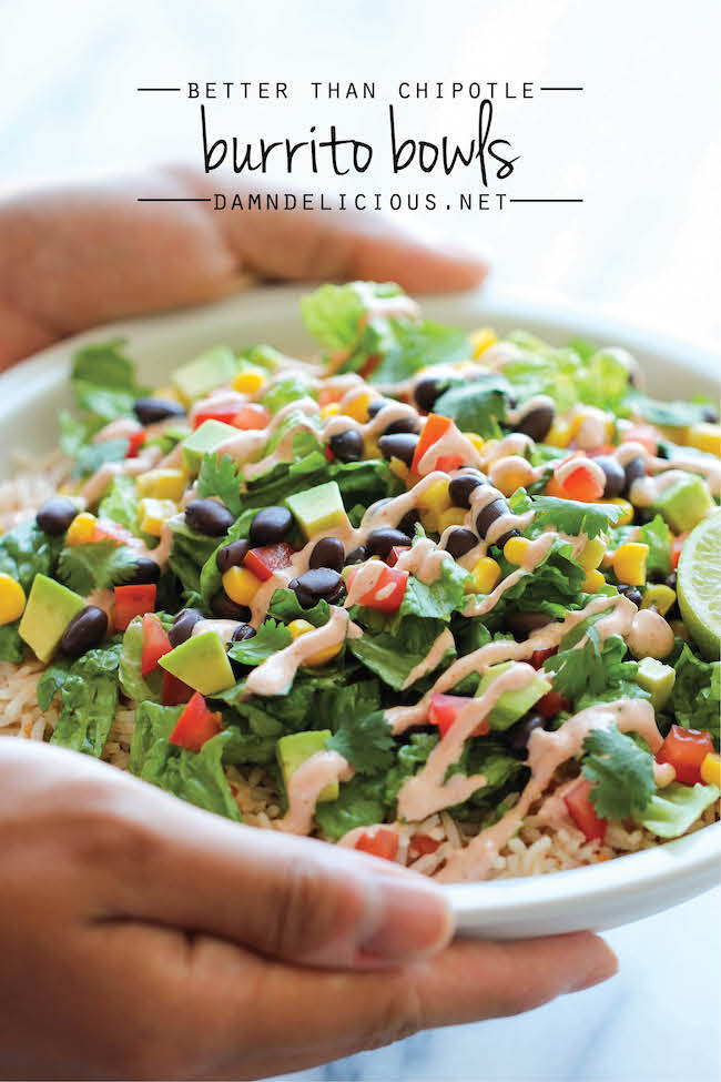 ... Recipes Board , including these Easy Burrito Bowls by Damn Delicious