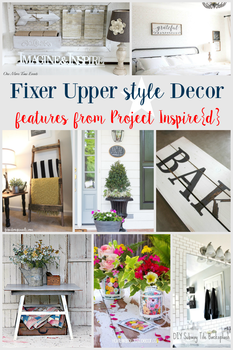 Fixer Upper Decor Ideas