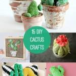 15 DIY Cactus Crafts