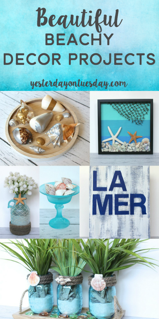 DIY Beachy Decor Projects