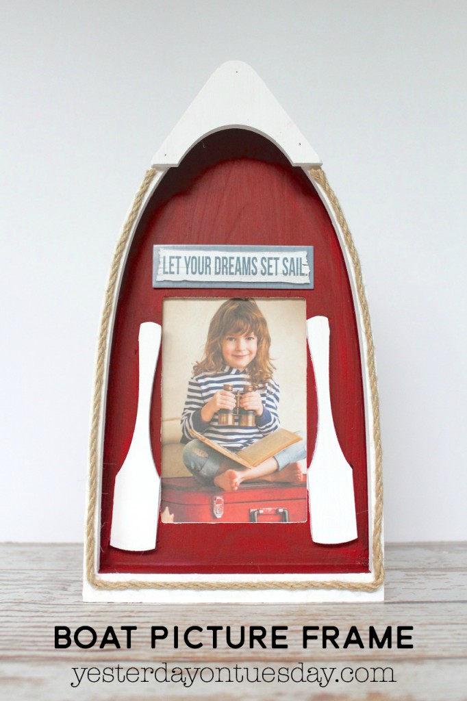 DIY Boat Picture Frame