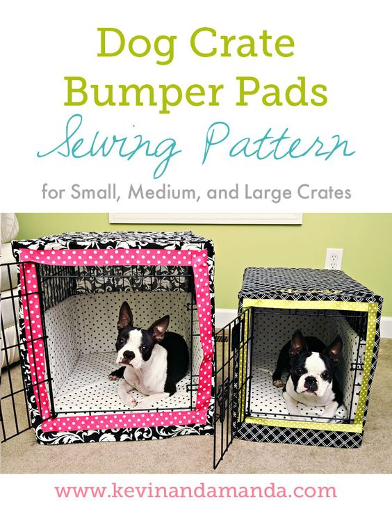 Dog Crate Bumper Pads