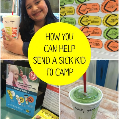 How You Can Help Send a Sick Kid to Camp with Tropical Smoothie Café!