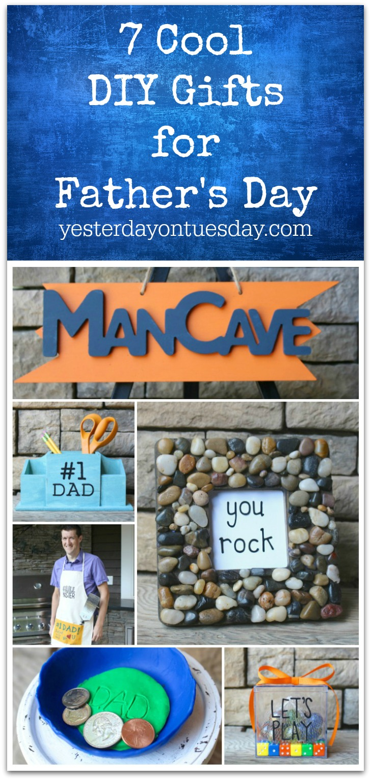 7 Cool Diy Gifts For Father S Day Yesterday On Tuesday