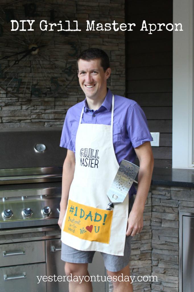 DIY Grill Master Apron
