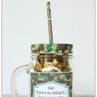 Father's Day Mason Jar Gift