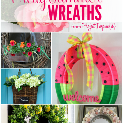 9 Pretty Summer Wreaths