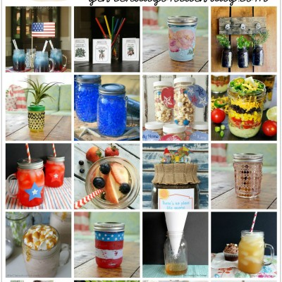 50 Summer Ideas for Mason Jars