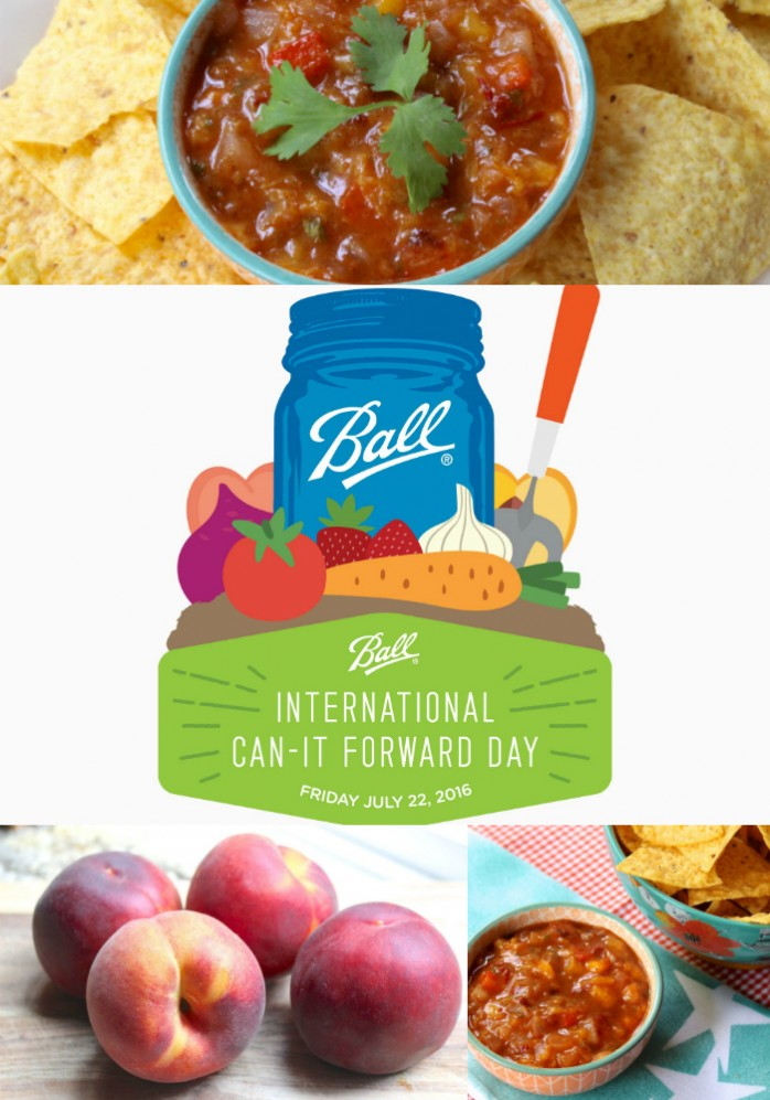 Ball International Can It Forward Day, Friday July 22, 2016. Live canning demos, prizes, expert advice and an opportunity to help support local charities.