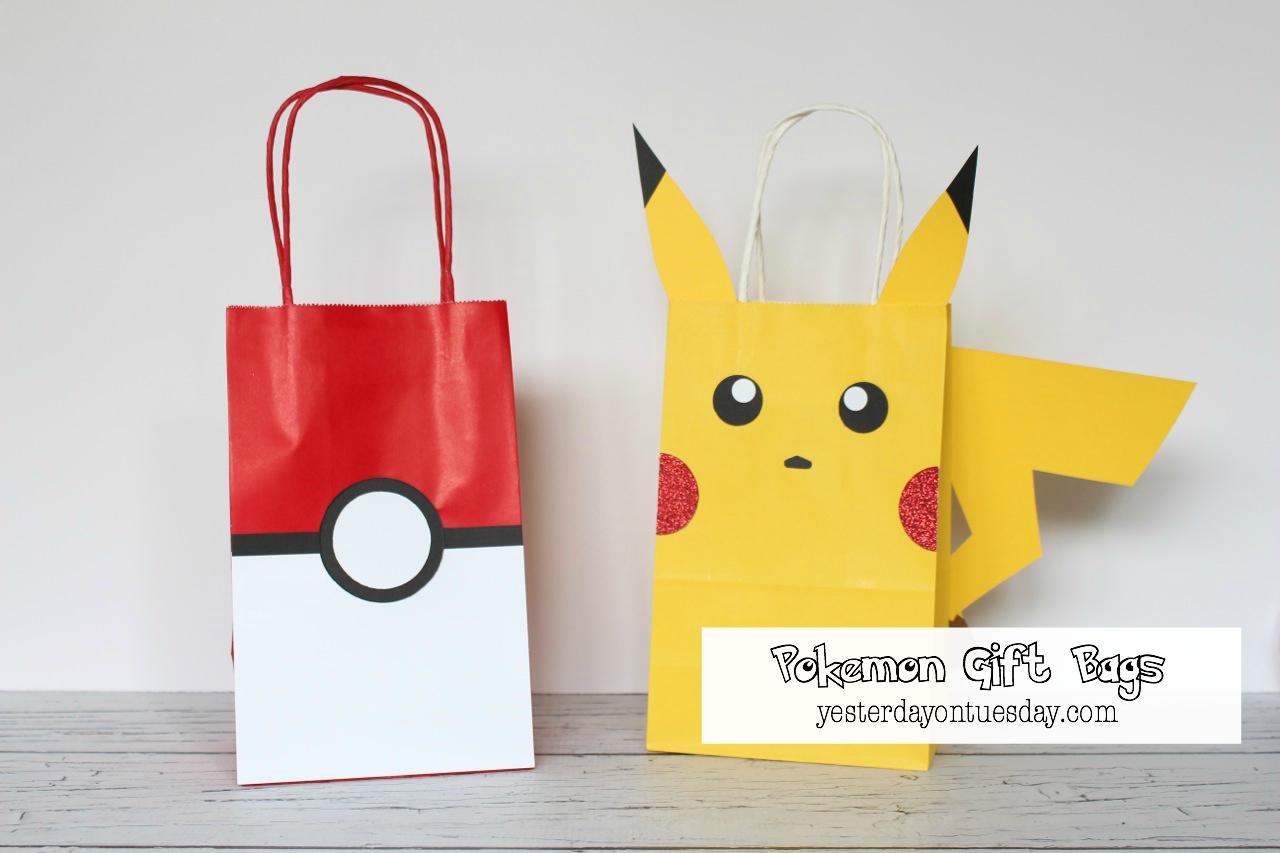 Pokemon Gift Bags Png