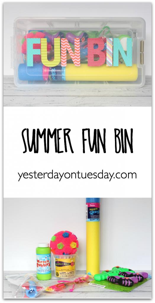 Summer Fun Bin