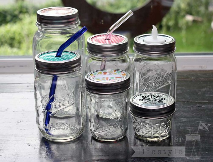 Stainless-Steel-Bands-Rings-Regular-Mouth-Mason-Jars-6-Ball-Jar-Lids from @masonlifestyle