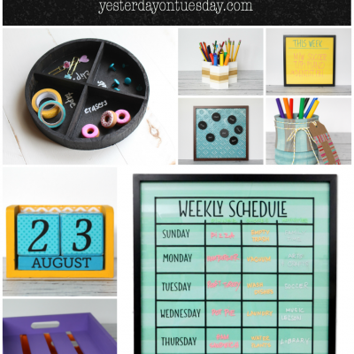 7 Back to School Organizing Solutions