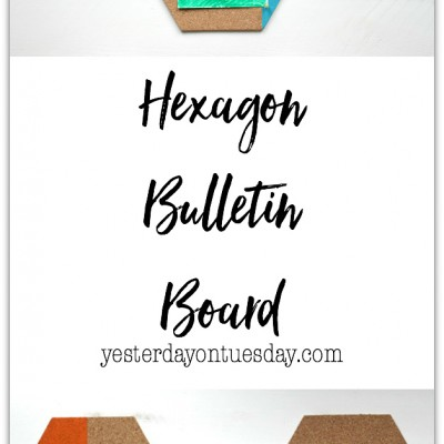 Hexagon Bulletin Board