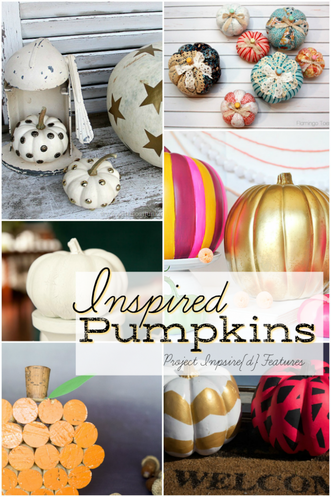12 Pumpkin Ideas: Beautiful pumpkin craft and decor ideas