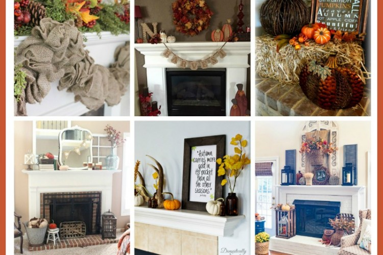 Lovely Fall Mantle Decor Ideas