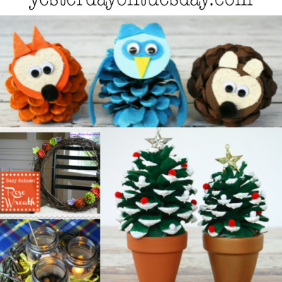 9 Easy Pinecone Projects