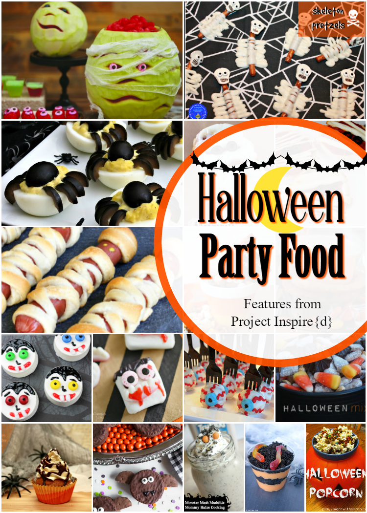 Halloween Party Food Features From