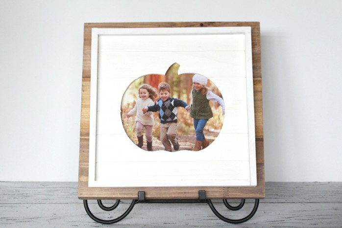 Easy Pumpkin Frame Project